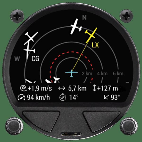 Traffic Monitor 80 mm